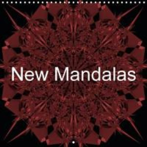 New Mandalas (Wall Calendar 2015 300 × 300 mm Square)