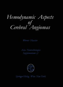 Hemodynamic Aspects of Cerebral Angiomas
