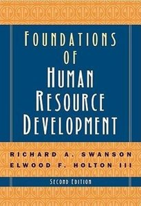 Foundations of Human Resource Development