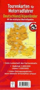 Tourenkarten für Motorradfahrer Deutschland/Alpenländer 2014/201