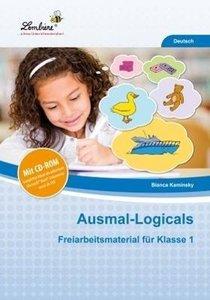 Ausmal-Logicals. Grundschule, Deutsch, Klasse 1