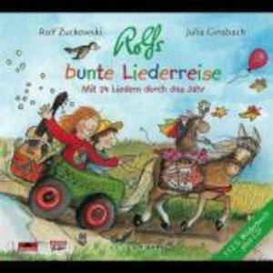 Rolfs bunte Liederreise. CD