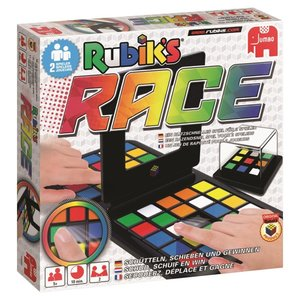 Jumbo Spiele 3986 - Rubiks Race, Geschicklichkeitsspiel, bunt