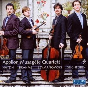 Apollon Musagste Quartett: Streichquartette