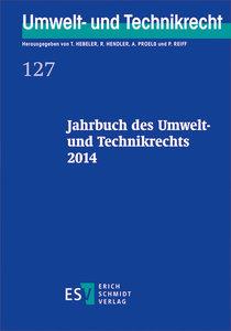Jahrbuch des Umwelt- und Technikrechts 2014