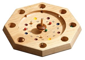 Philos 3116 - Tiroler Roulette, Octagon mit Kreisel