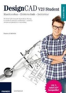 DesignCAD V23 Student - Maschinenbau - Elektrotechnik - Architek