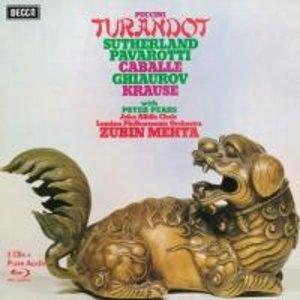 Pavarotti/Sutherland/Caballe/Mehta: Turandot (Ltd.Deluxe Edt