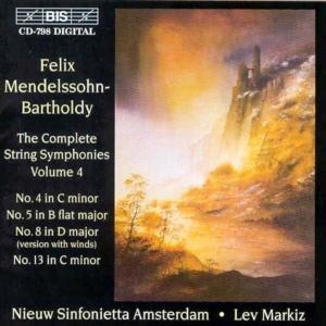 Streichersymphonien (No.4/5/8/13) Vol.4