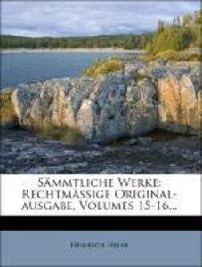 H. Heine's sämmtliche Werke: Dichtungen.