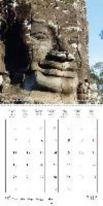 Khmer Temples (Wall Calendar 2015 300 × 300 mm Square)