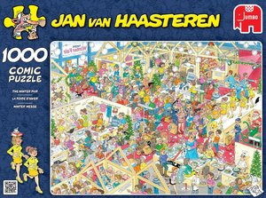 Jumbo 17453 - Jan van Haasteren - Winter Messe - 1000 Teile