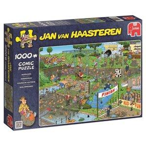Jan van Haasteren Schlammrennen - 1000 Teile