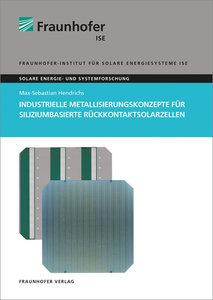 Industrielle Metallisierungskonzepte für siliziumbasierte Rückko