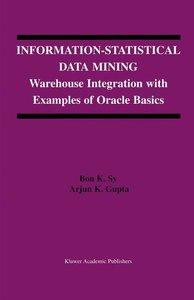 Information-Statistical Data Mining