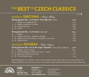 Tschechische Streichquartette