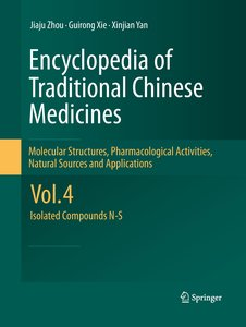 Encyclopedia of Traditional Chinese Medicines - Molecular Struct