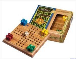 Philos 6493 - Würfelspiel, Bambus