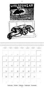 New York City Subway Drawings (Wall Calendar 2015 300 &times 300