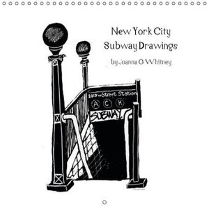 New York City Subway Drawings (Wall Calendar 2015 300 &times 300