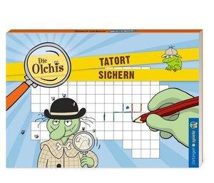 Die Olchis Blockspiel Tatort sichern