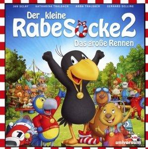 Der kleine Rabe Socke 2-Das große Rennen (Hörspi