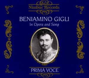Gigli In Opera And Song