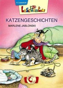 Lesepiraten - Katzengeschichten Großbuchstaben