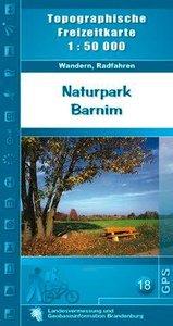 Naturpark Barnim 1 : 50 000
