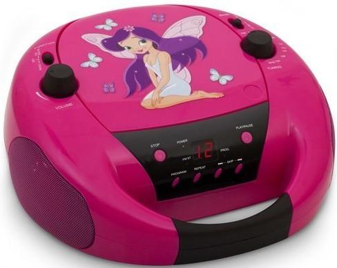 CD-Radio, CD52, tragbar, Fairy II - zum Schließen ins Bild klicken