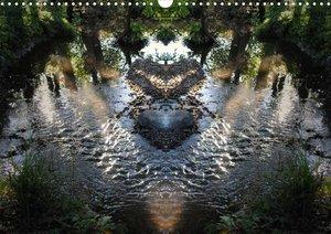 Spiegelwelten - magische Plätze (Posterbuch DIN A4 quer)