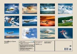 Modellflug in Szene gesetzt (Posterbuch DIN A2 quer)