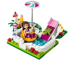 LEGO 41090 - Friends: Olivias Gartenpool