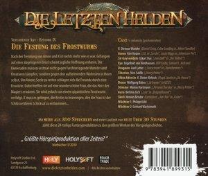 Die letzten Helden 09 - Die Festung des Frostwurms