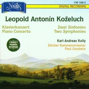 2 Sinfonien+Klavierkonzert