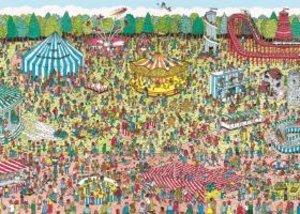 Jumbo Spiele 17096 - Wo ist Walter? Jahrmarkt-Puzzle, 1000 Teile