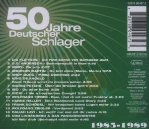 50 Jahre Schlager 1985-1989