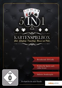 5 in 1 - Kartenspielebox