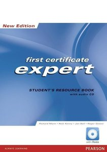 FCE Expert New Edition Students Resource Book no Key/CD Pack