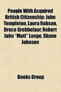 People with acquired British citizenship