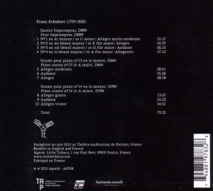 Impromptus D.899/Klaviersonaten 13 & 14