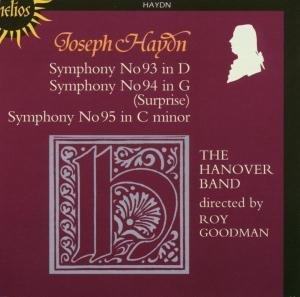 Sinfonien 93-95
