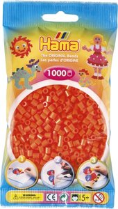 Hama 207-04 - Perlen orange, 1000 Stück