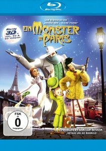Ein Monster in Paris 3D/2D BD