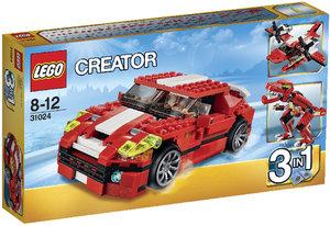 LEGO® Creator 31024 - Power Racer, rot