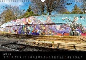 BRUXELLES Graffitis (Calendrier mural 2016 DIN A3 horizontal)
