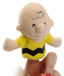 Peanuts Fingerpuppe Charlie Brown (8 cm)