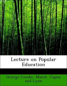 Lecture on Popular Education