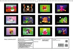 Natunika Art Design - Baby Cartoons 2017 (Wandkalender 2017 DIN