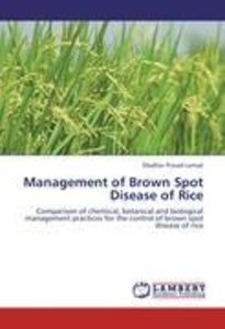 Management of Brown Spot Disease of Rice